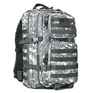 Reebow Gear Military Tactical Backpack Large Army 3 Day Assault Pack