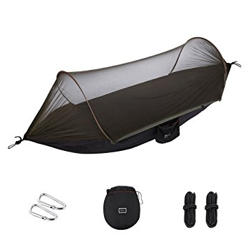 isYoung Hammock with Mosquito Net