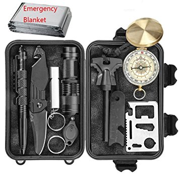 Changku Emergency Survical Kits 11 in 1