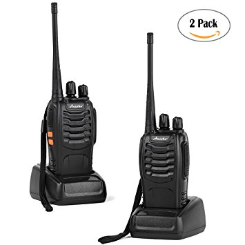 Ansoko Long Range Walkie Talkies Amateur Two Way Radios FRS