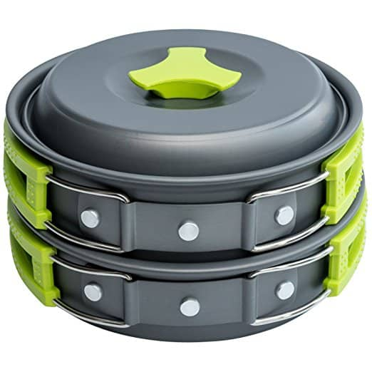 MalloMe Camping Cookwarer Mess Kit