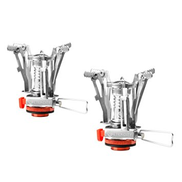 Etekcity 2 Pack Ultralight Mini Outdoor Backpacking Camping Stove