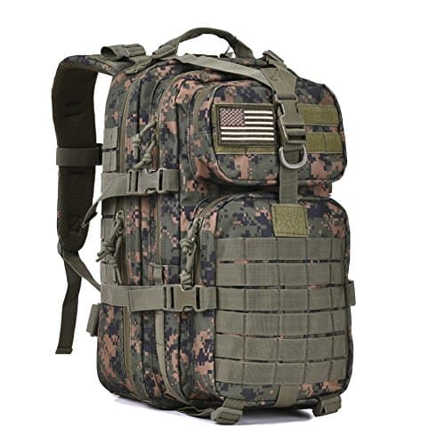Military-Tactical-Assault-Pack-Backpack-Army-Molle-Bug-Out-Bag-Backpacks-Rucksack-for-Outdoor-Hunting-Camping-School-34L-Small-Woodland-Camouflage-0